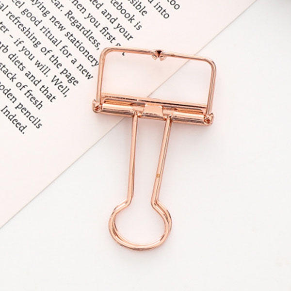 Creative Hollow Color Dovetail Badge Clip 10 Pcs