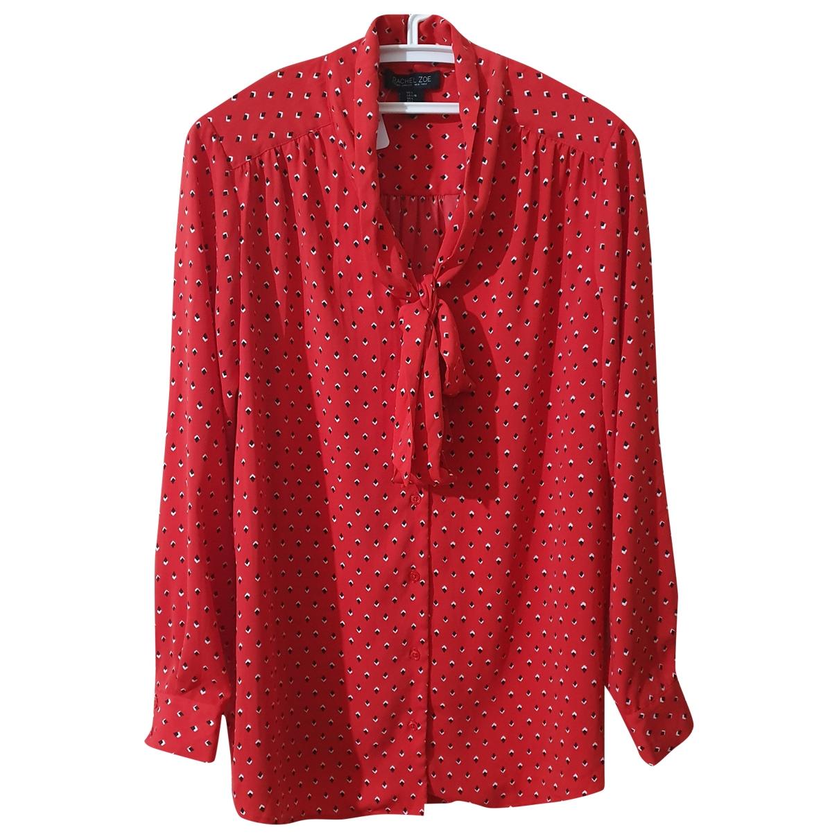 Rachel Zoe \N Top in  Rot Polyester