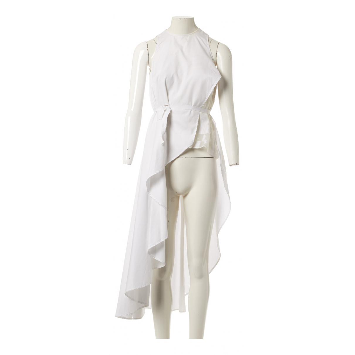 Palmer Harding \N Kleid in  Weiss Baumwolle