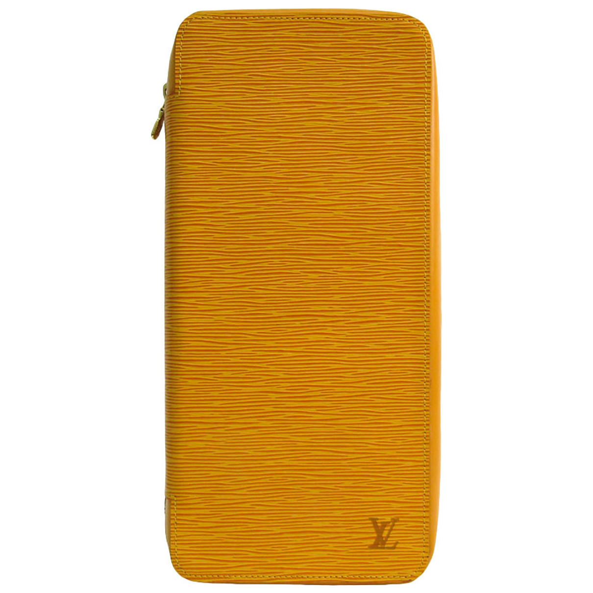 Louis Vuitton N Yellow Leather Purses, wallet & cases for Women N