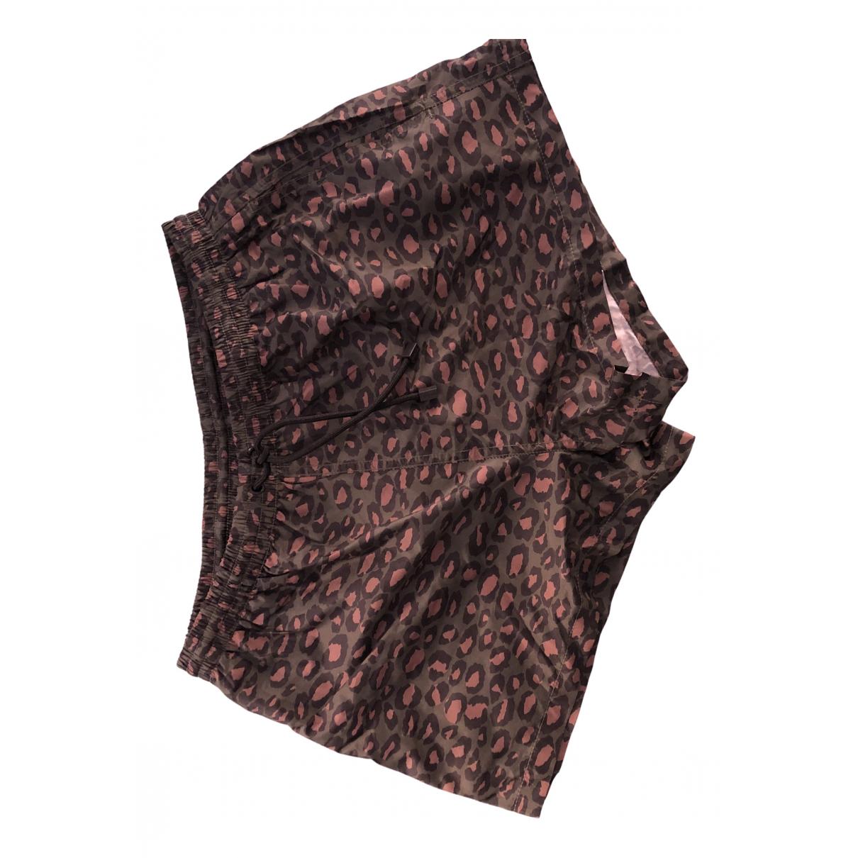 Zara \N Badeanzug in  Gruen Polyester