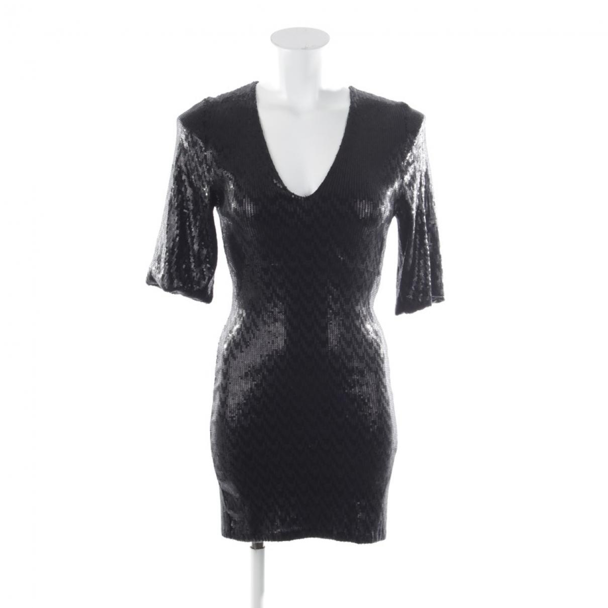 Vestido de Con lentejuelas Saint Laurent