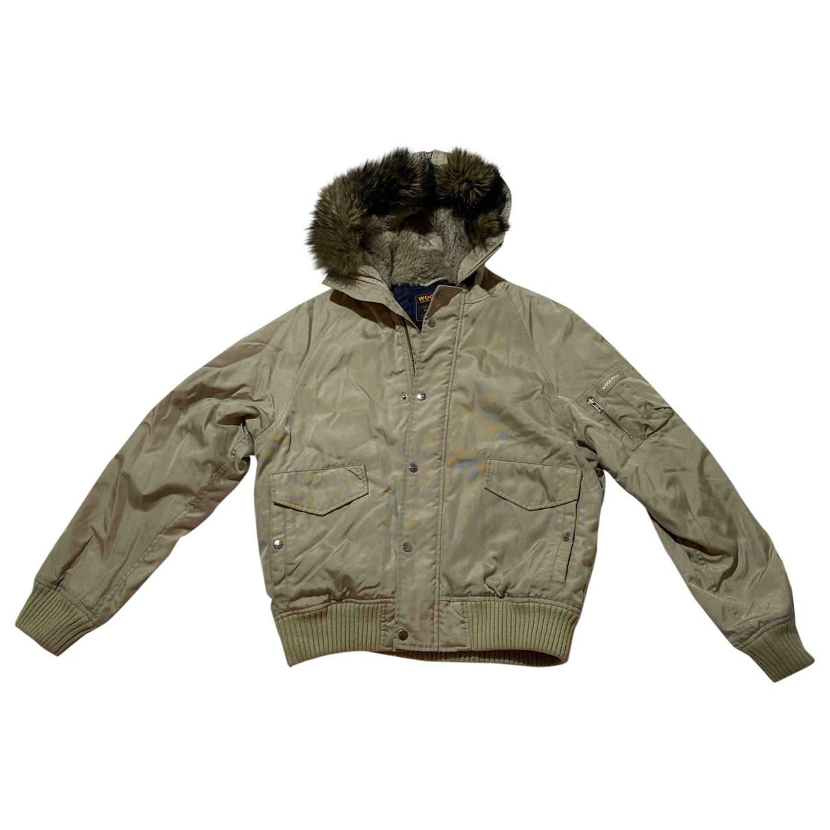 Woolrich - Manteau   pour homme - beige