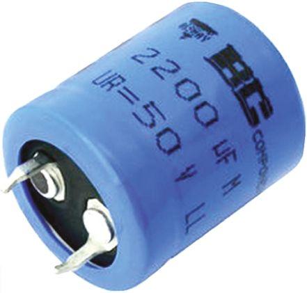 Vishay 22000μF Electrolytic Capacitor 16V dc, Through Hole - MAL205655223E3