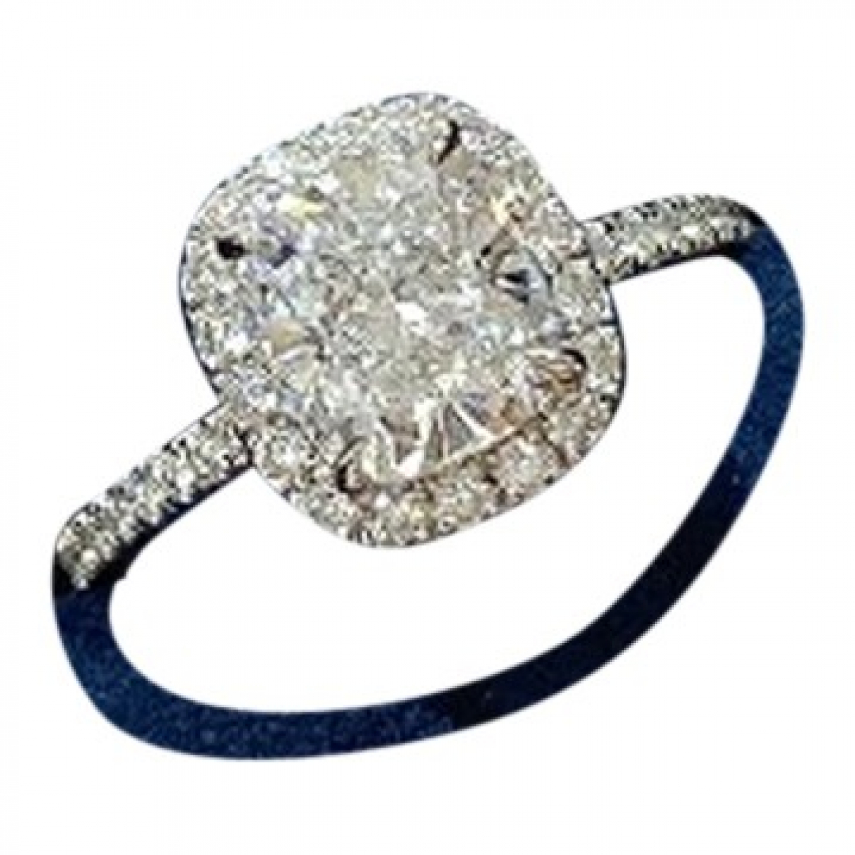 Harry Winston \N Ring in  Silber Weissgold