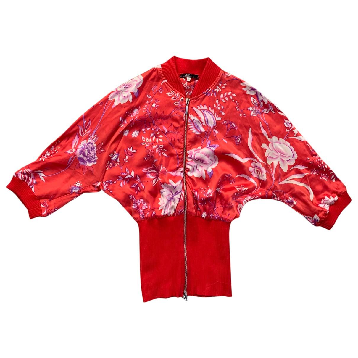 Autre Marque - Top   pour femme en soie - multicolore