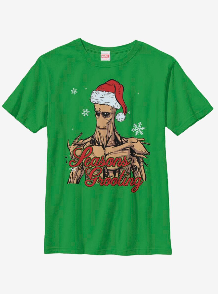 Marvel Guardians Of The Galaxy Groot Sings Youth T-Shirt