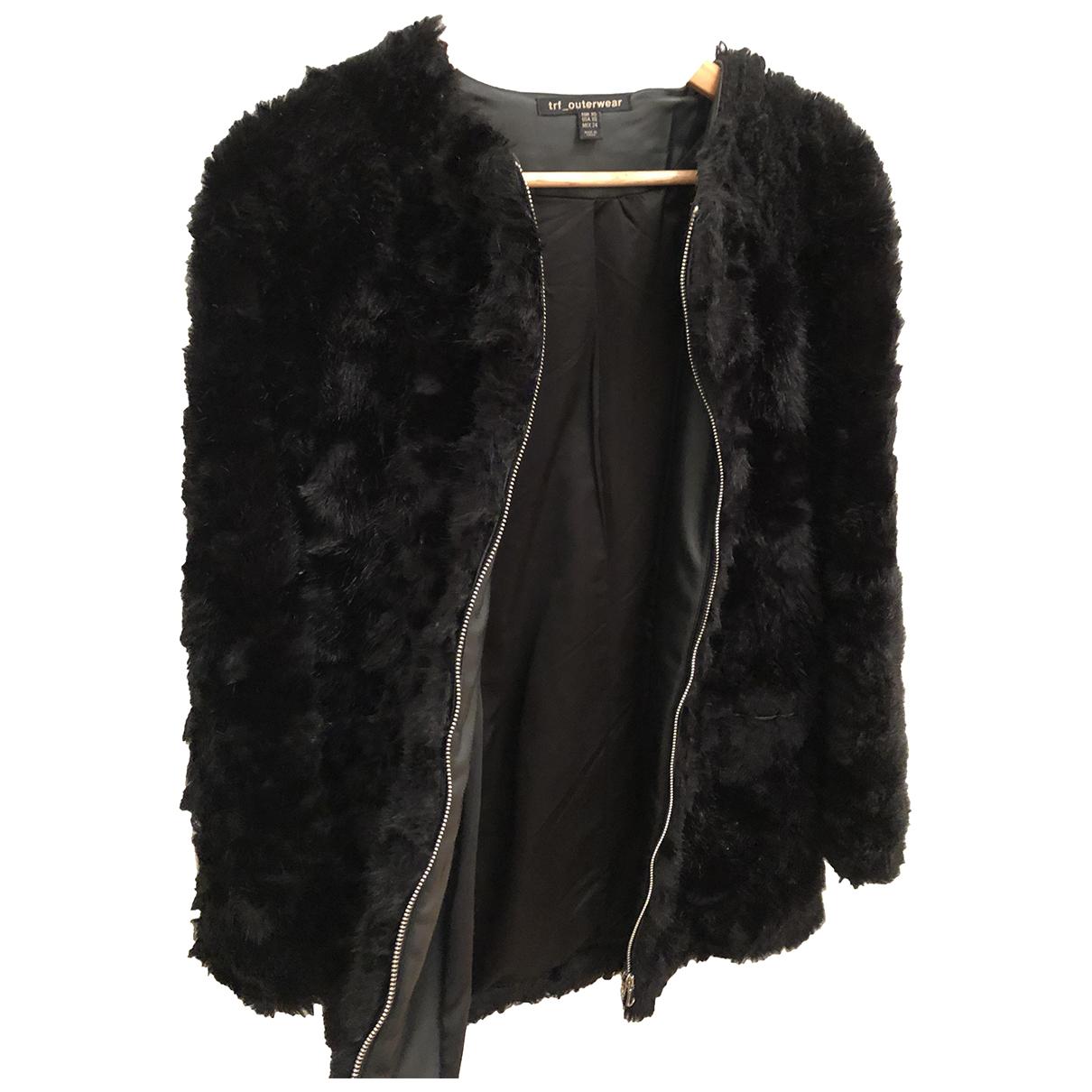 Zara N Black coat for Women 36 IT