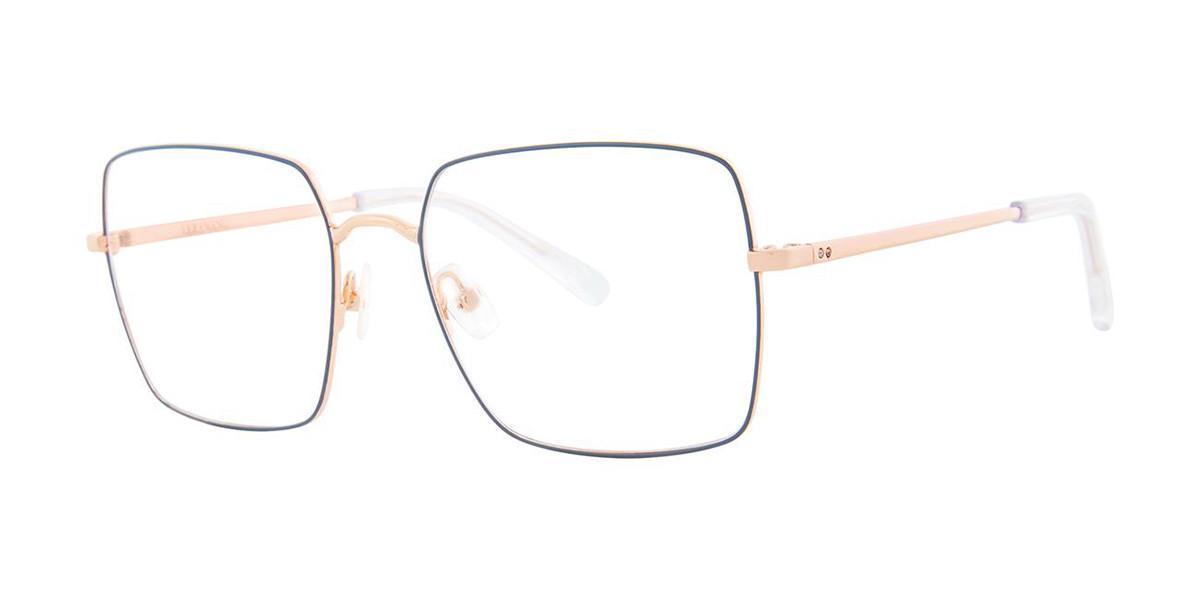 Vera Wang V571 Sky Rose Men's Glasses Blue Size 53 - Free Lenses - HSA/FSA Insurance - Blue Light Block Available