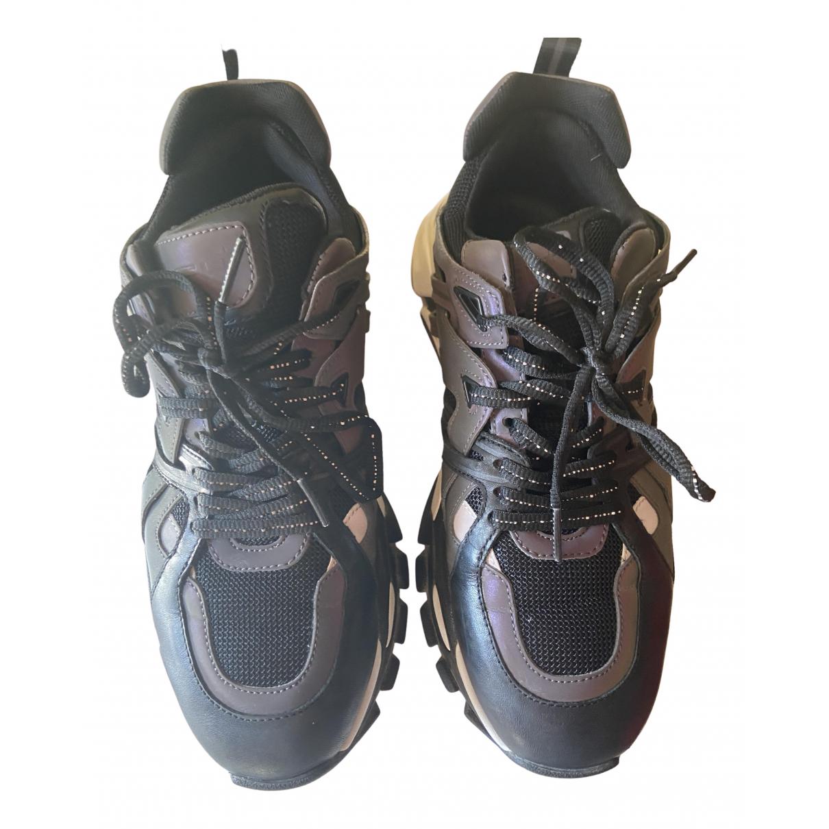 Ash \N Sneakers in  Schwarz Leinen
