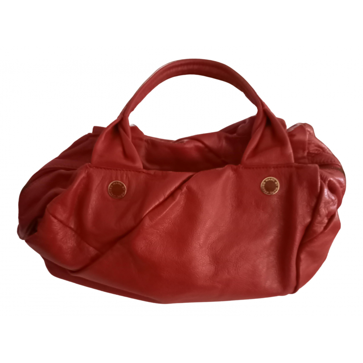 Marc By Marc Jacobs N Red Leather handbag for Women N