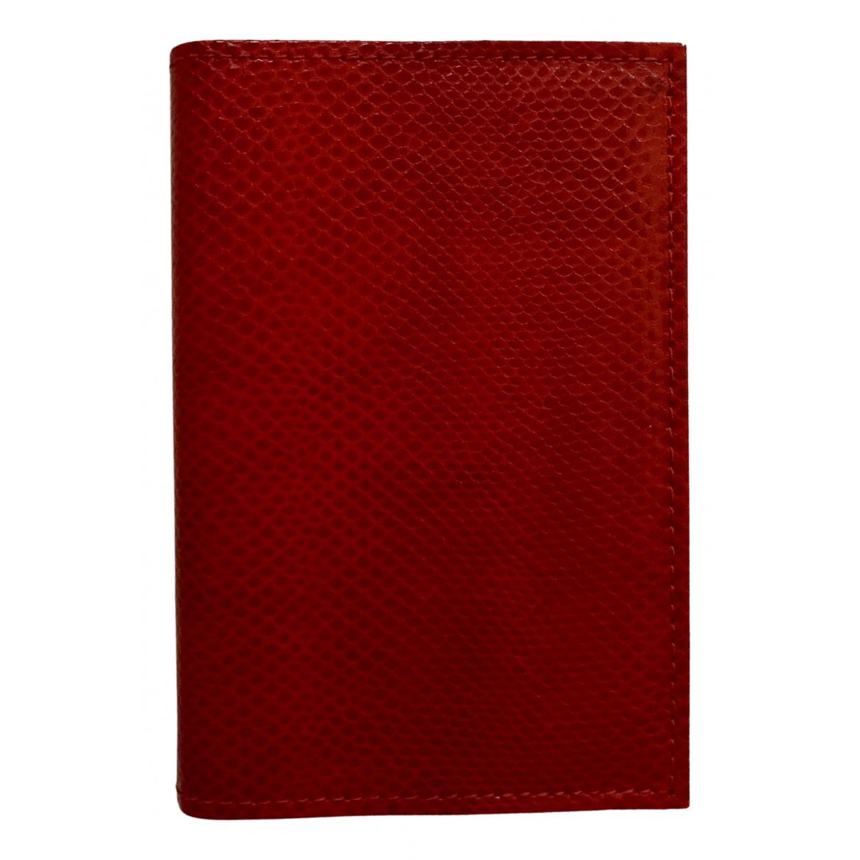 Aspinal Of London - Objets & Deco   pour lifestyle en cuir - rouge
