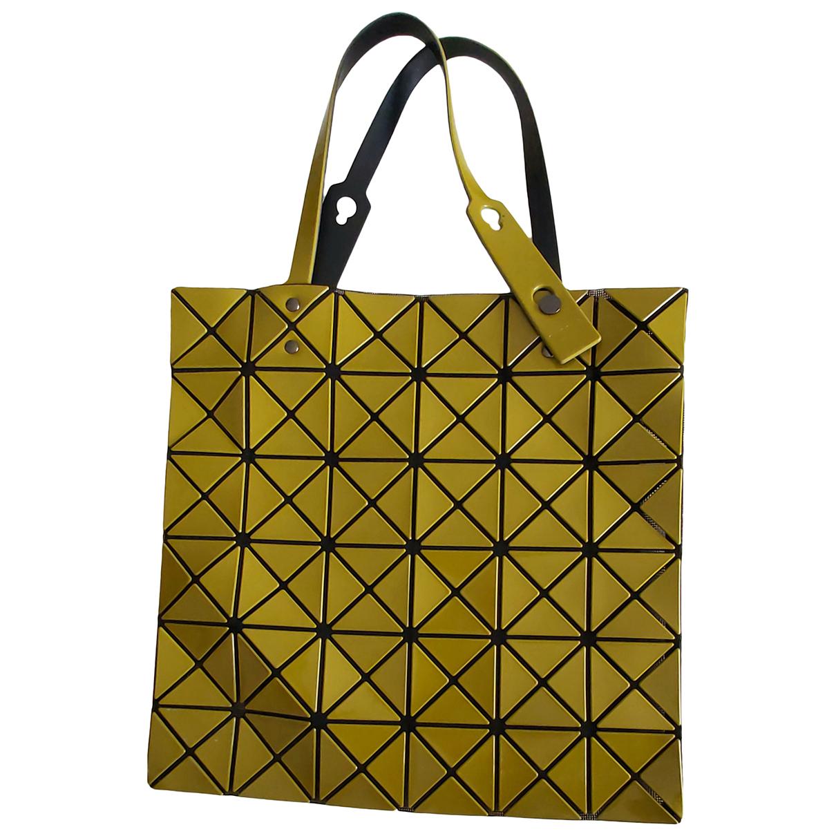 Issey Miyake \N Handtasche in  Gelb Kunststoff