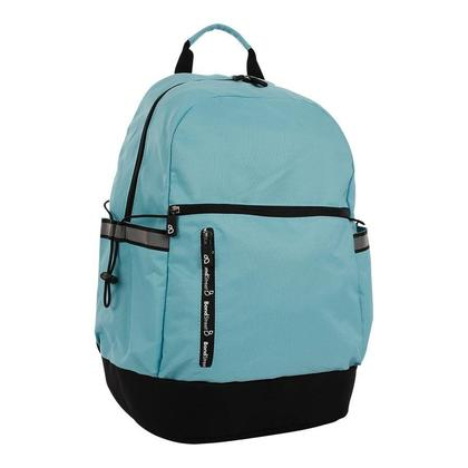 Bond Street Polyester Backpack, for 15.6 in Laptops, 11.5 x 18 x 7 in - Aqua