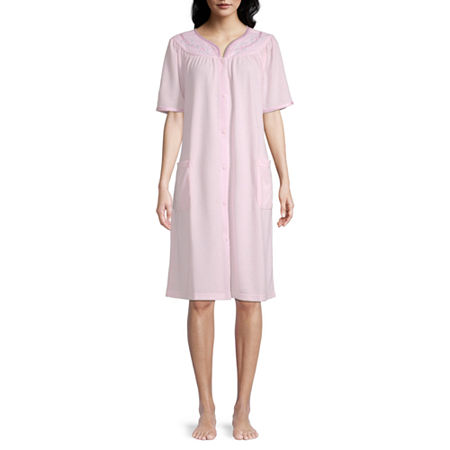 Adonna Snap Front Duster, X-large , Pink