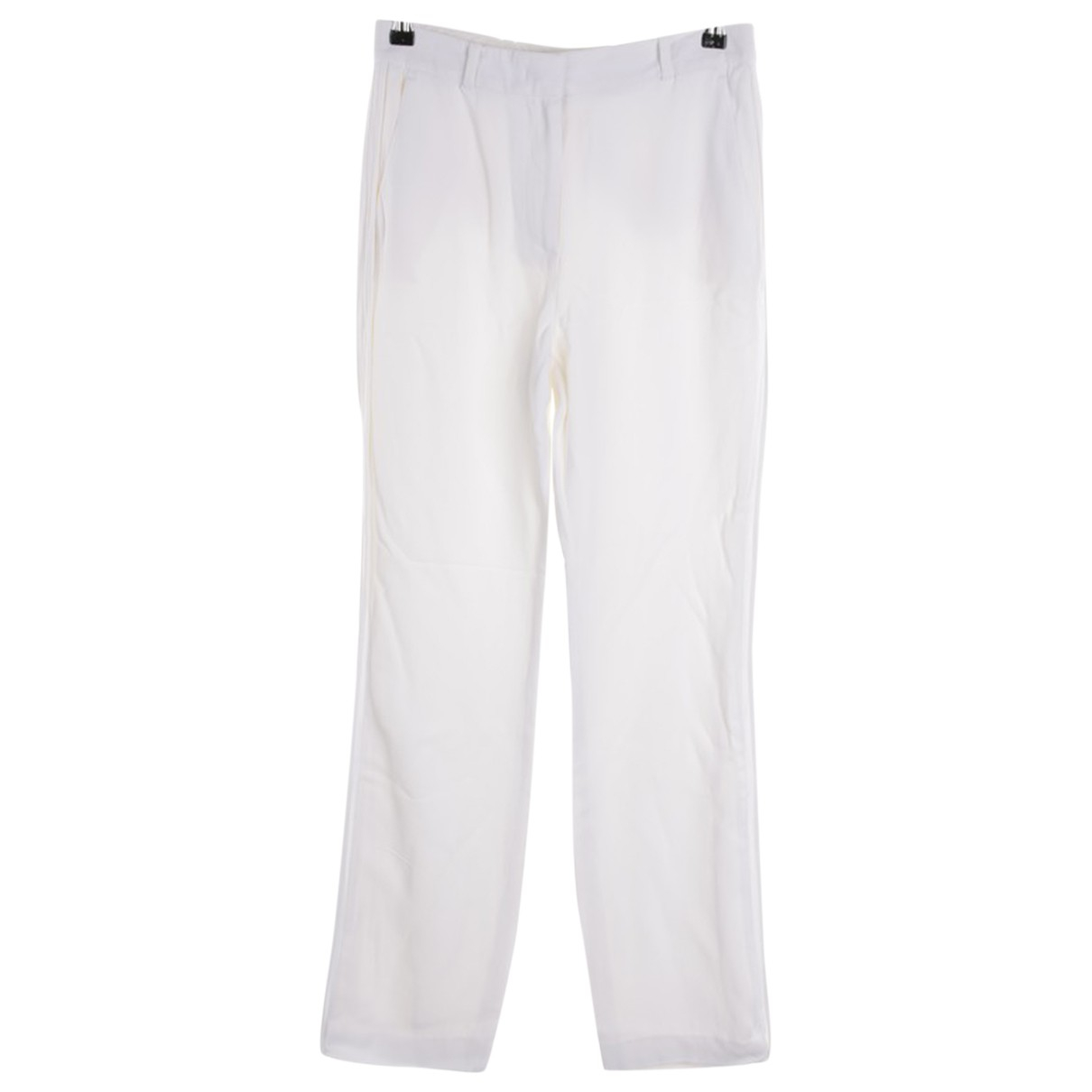 Givenchy \N White Trousers for Women 34 FR