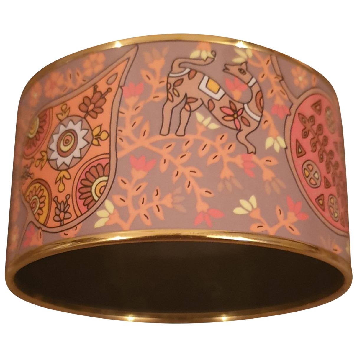 Pulsera Bracelet Email de Oro amarillo Hermes