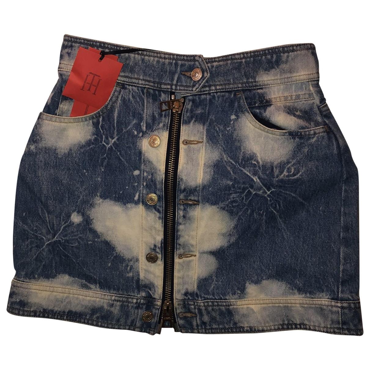 Hilfiger Collection \N Denim - Jeans skirt for Women 38 FR