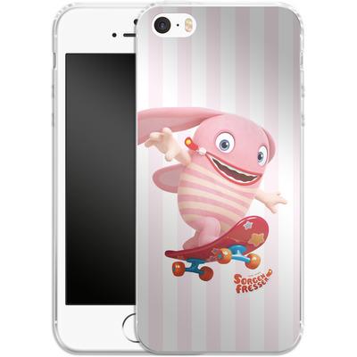 Apple iPhone 5 Silikon Handyhuelle - Sorgenfresser Pomm von Sorgenfresser