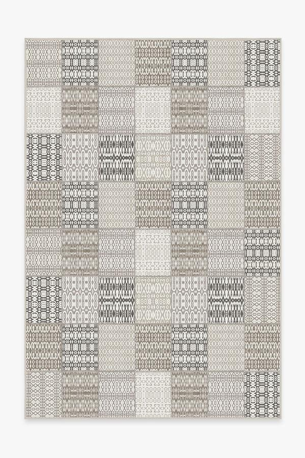 Washable Rug Cover | Chima Walnut Rug | Stain-Resistant | Ruggable | 6x9