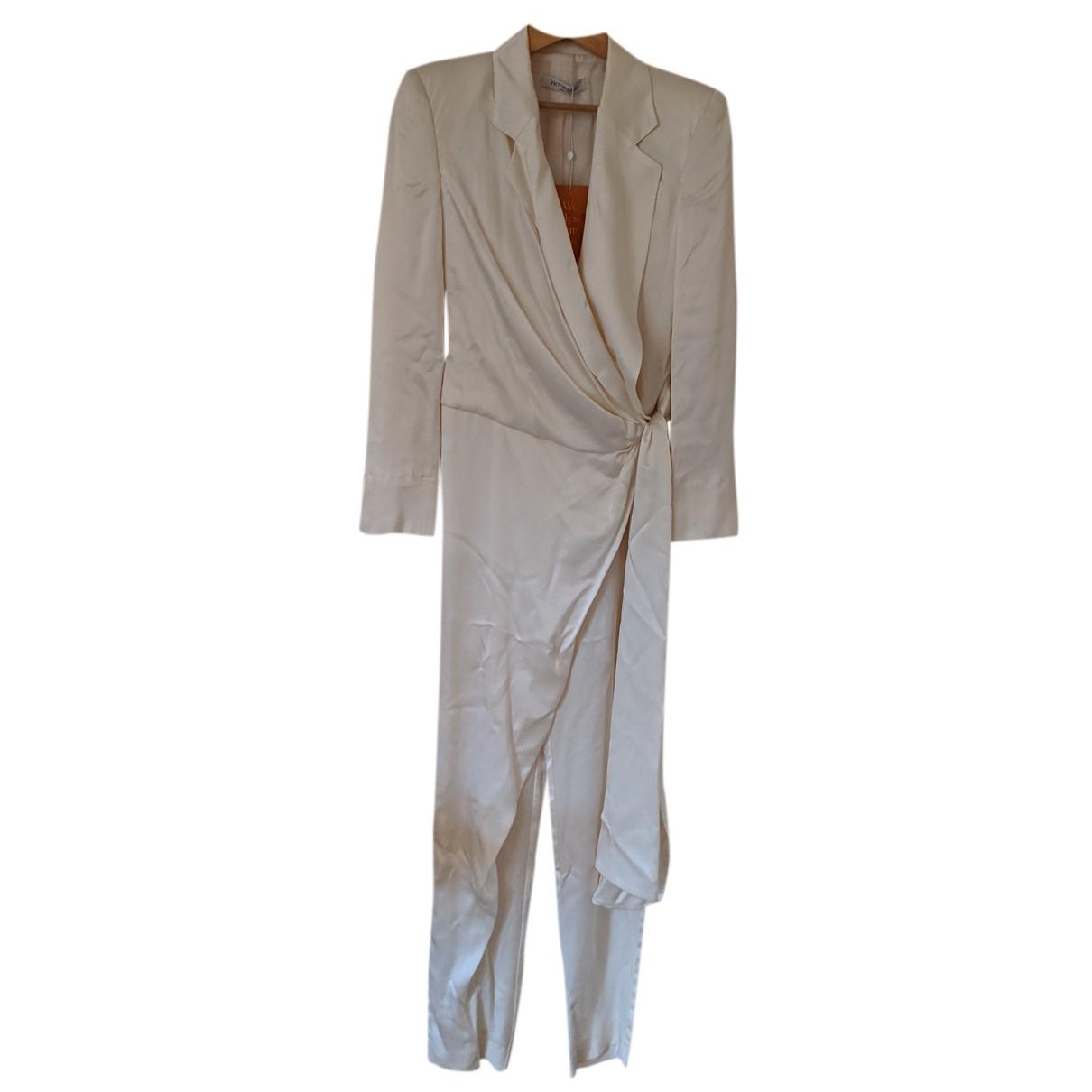 Viktor & Rolf - Combinaison   pour femme en soie - blanc