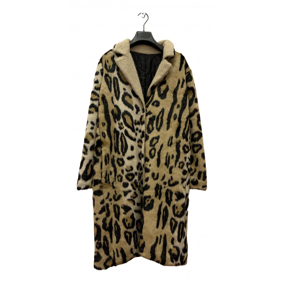 Modalu - Manteau   pour femme en fourrure synthetique