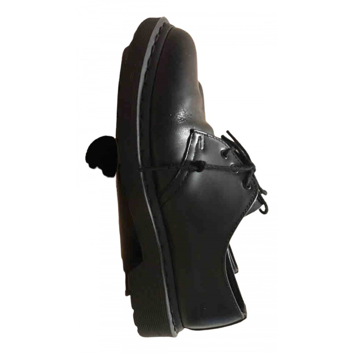 Dr. Martens N Black Leather Lace ups for Women 38 EU