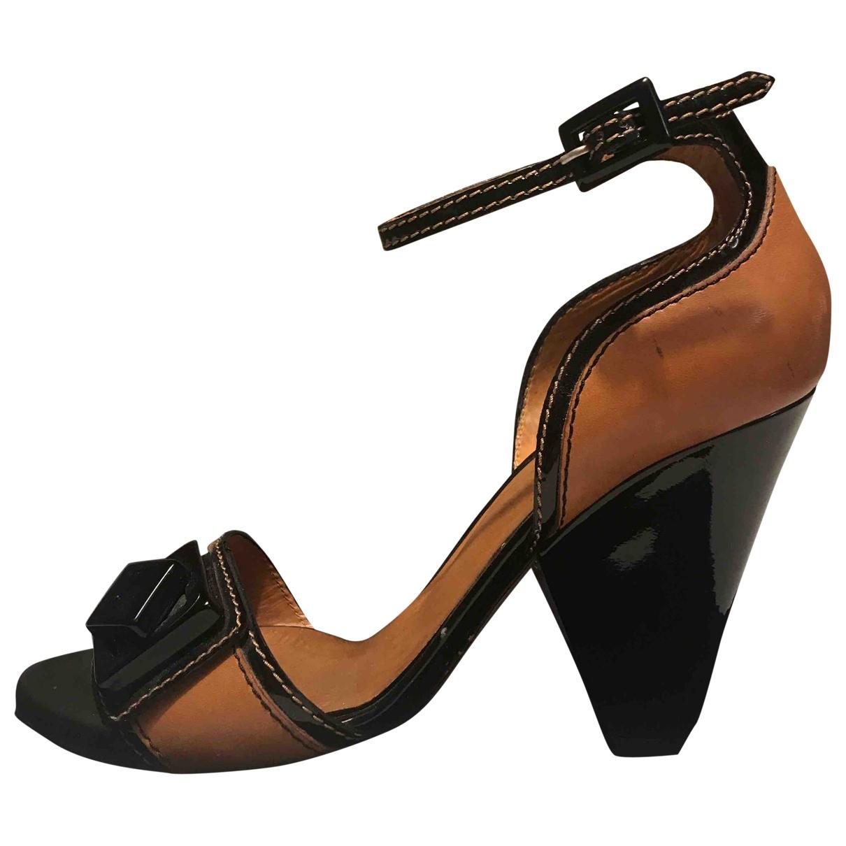 Dolce & Gabbana - Sandales   pour femme en cuir - beige