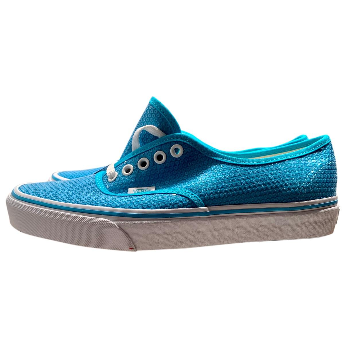 Vans \N Sneakers in  Tuerkis Mit Pailletten