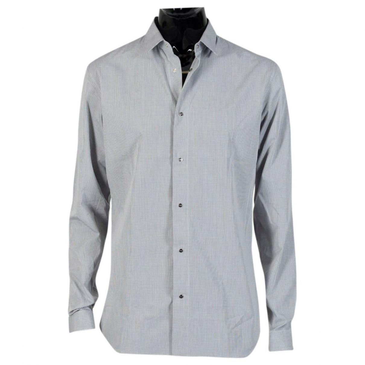 Dior Homme - Chemises   pour homme en coton - bleu
