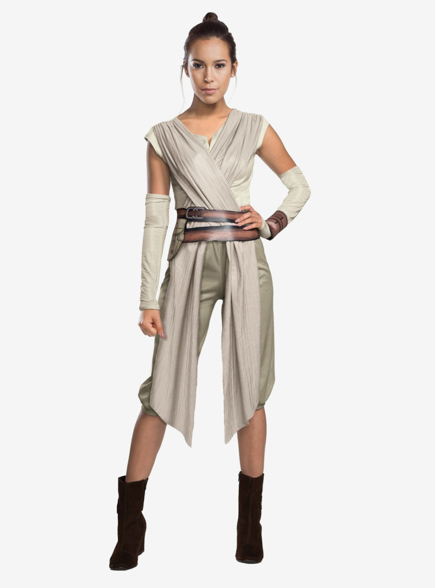Star Wars: The Force Awakens Rey Deluxe Costume