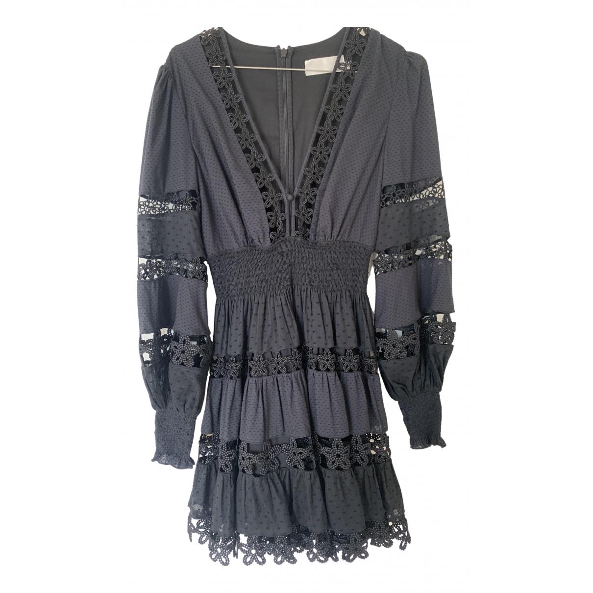 Zimmermann N Black Cotton dress for Women 1 0-5