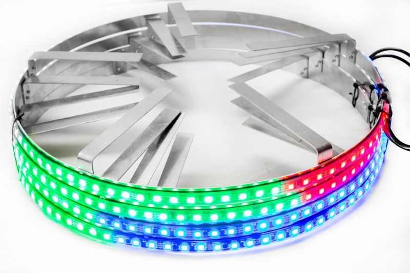 Race Sport Lighting RSRGB14-C  Chase Mode Multi-Color ColorADAPT 14 Inch LED Wheel Kit