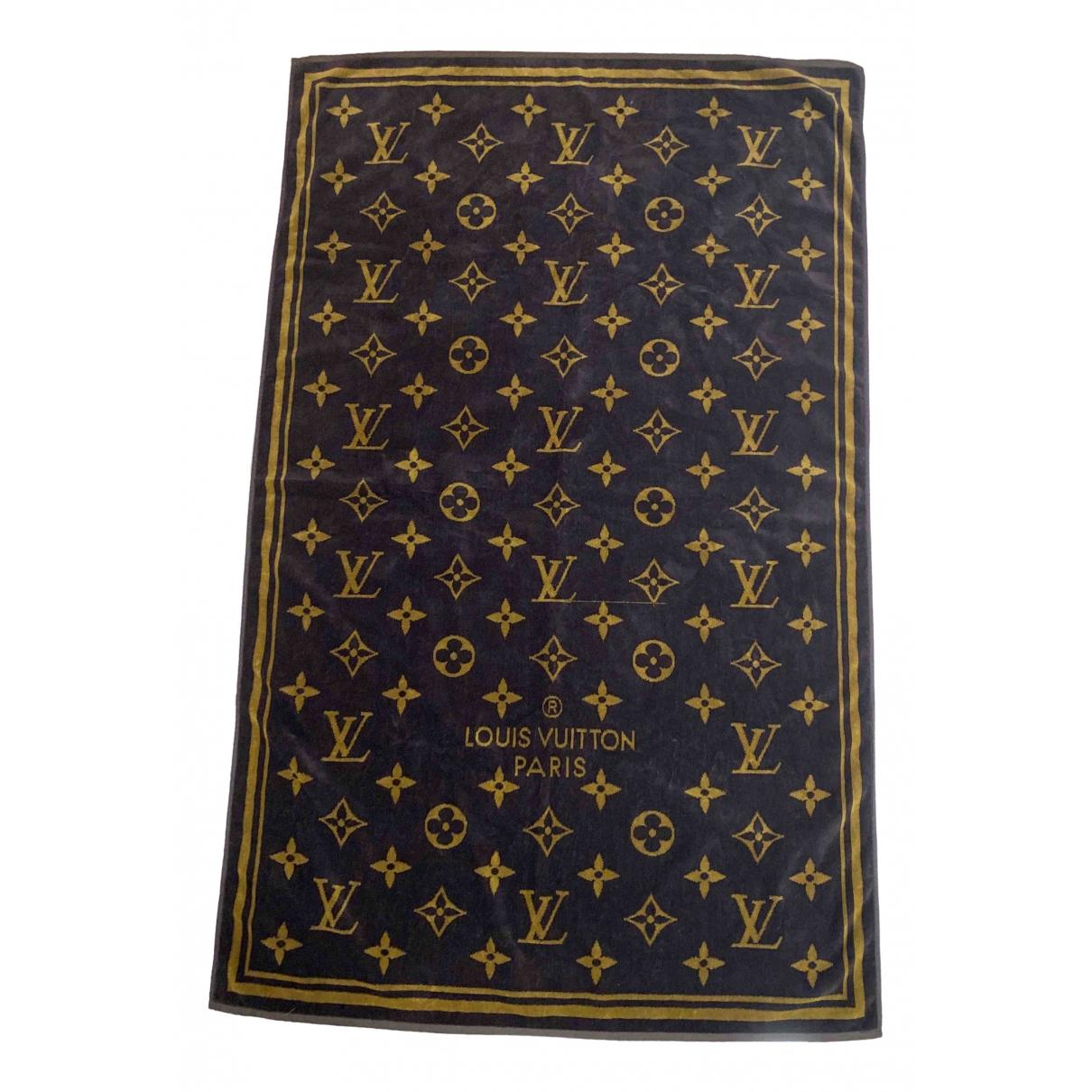 Louis Vuitton - Linge de maison   pour lifestyle en coton - marron