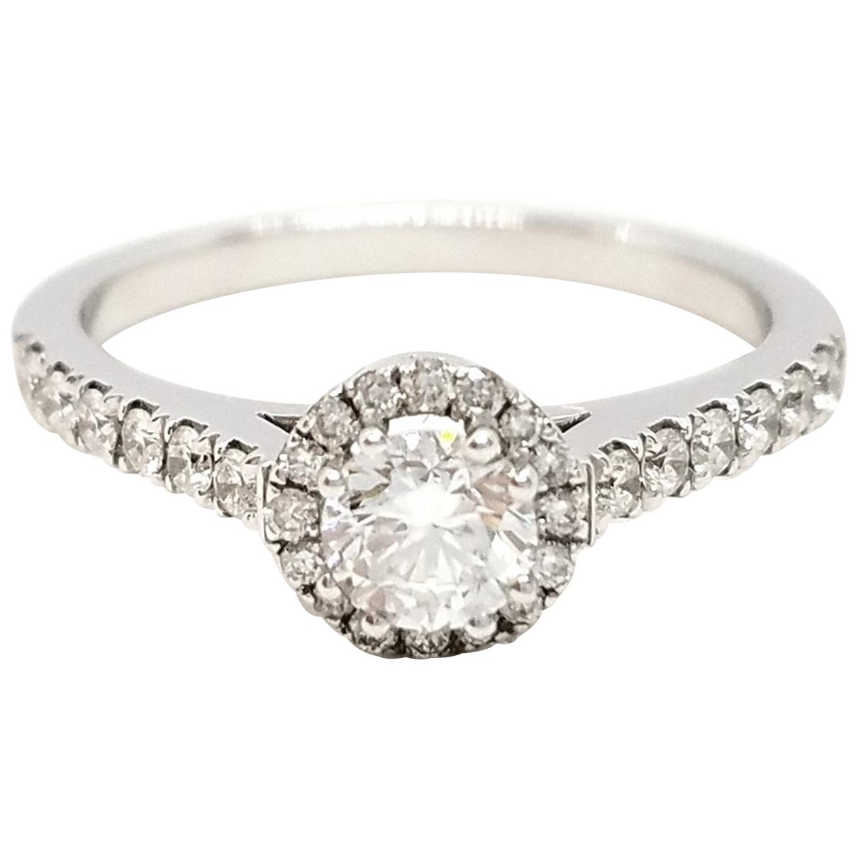 Autre Marque \N Silver White gold ring for Women 53 EU
