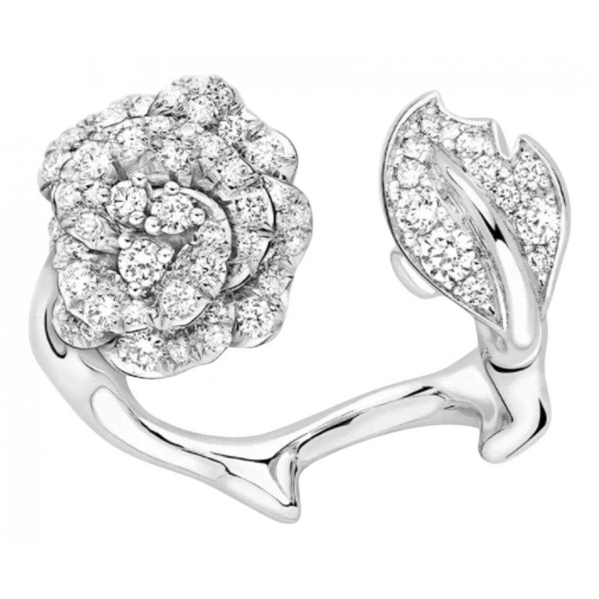 Dior - Bague Bois de Rose pour femme en or blanc