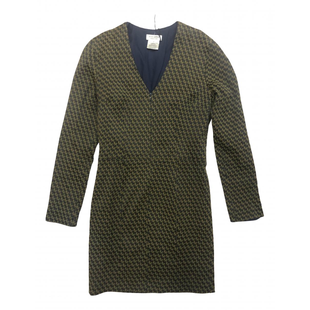 Roseanna \N Kleid in  Khaki Baumwolle - Elasthan