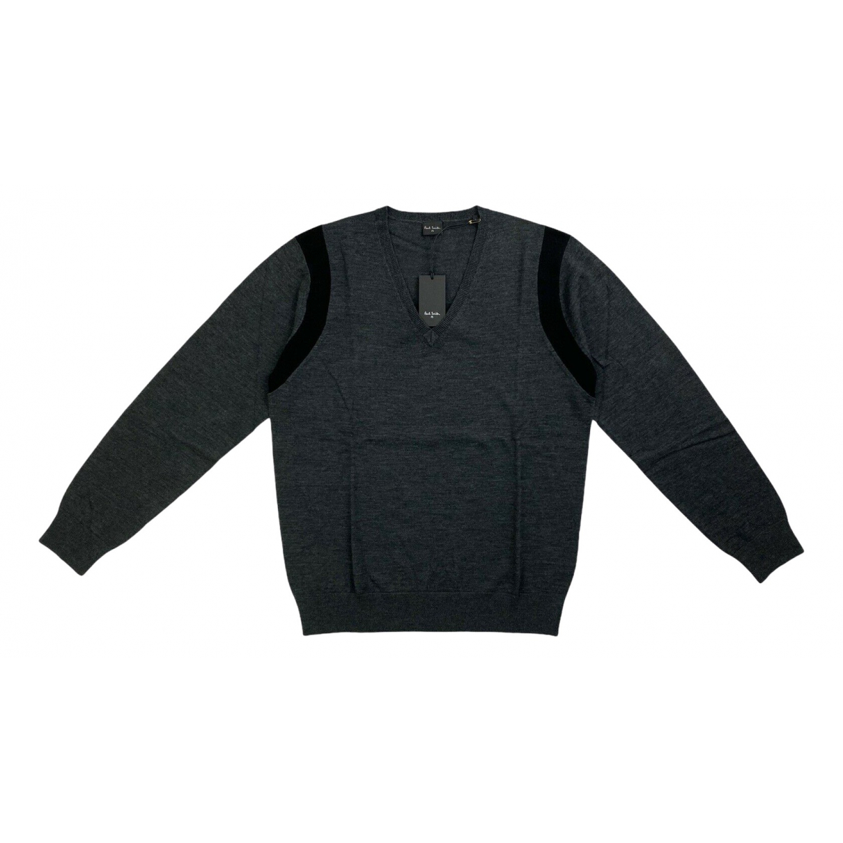 Paul Smith \N Pullover.Westen.Sweatshirts  in  Grau Wolle