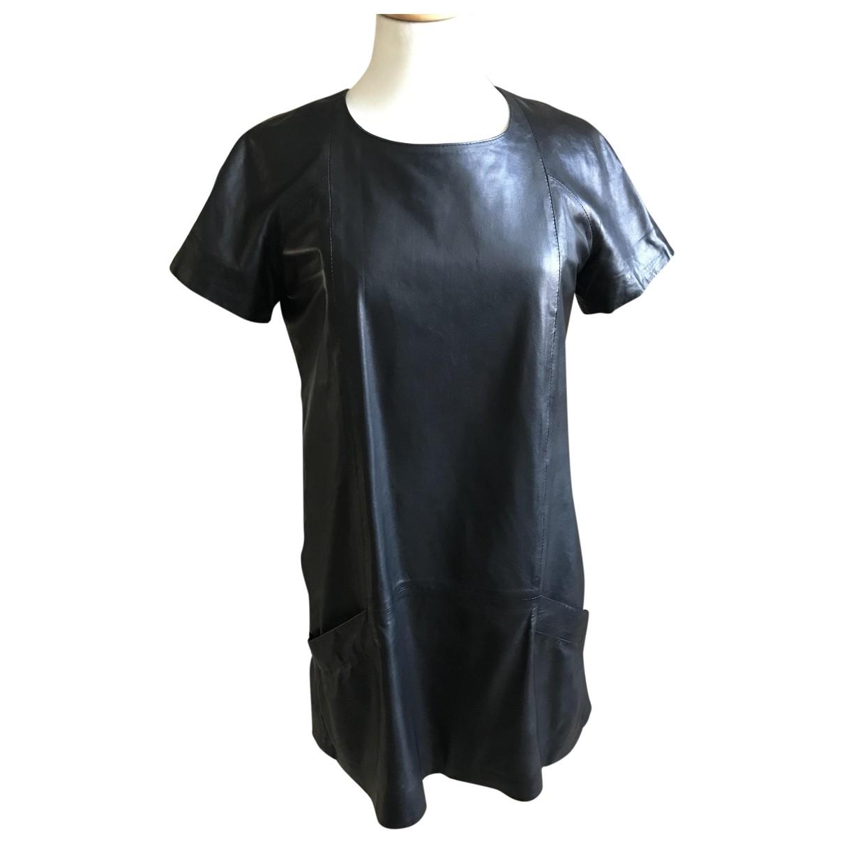 Enes \N Black Leather dress for Women 38 FR