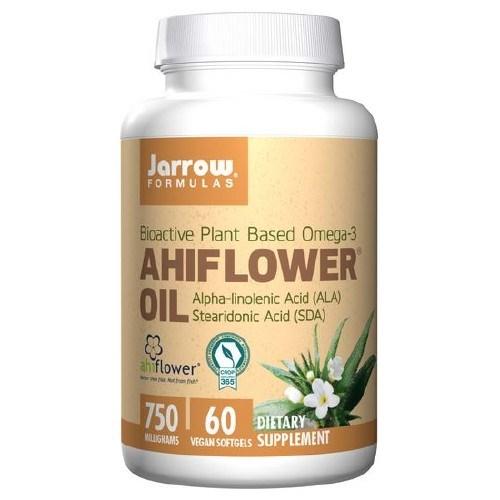 Ahiflower Oil 60 Softgels by Jarrow Formulas