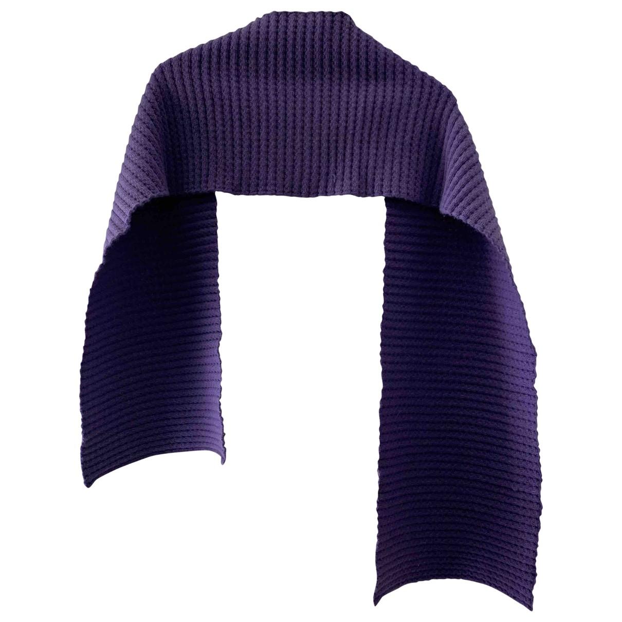 - Foulard   pour femme en cachemire - violet