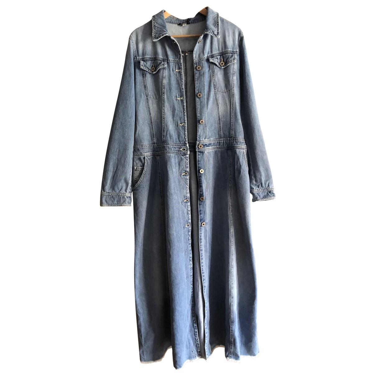Non Signé / Unsigned \N Blue Denim - Jeans dress for Women 40 IT