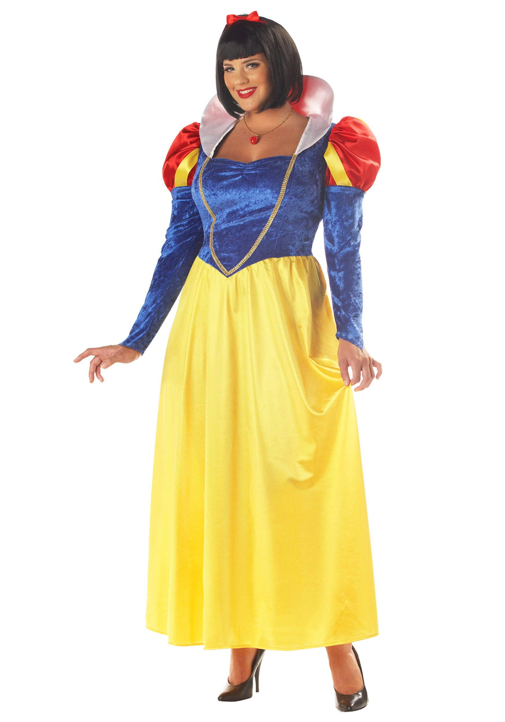 Plus Size Womens Snow White Costume