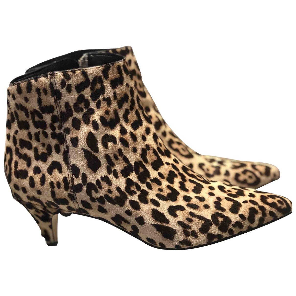 Sam Edelman - Boots   pour femme en fourrure
