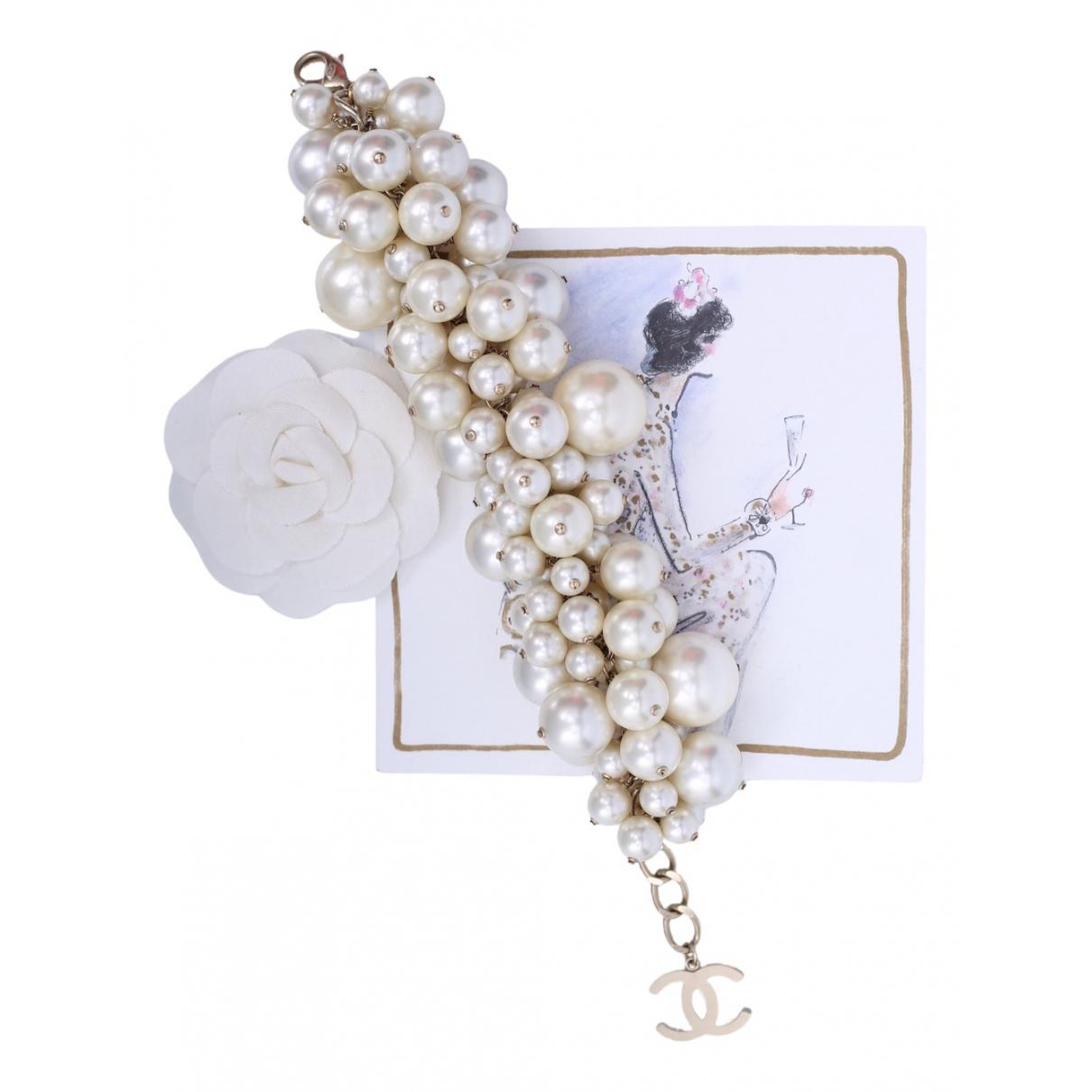 Chanel - Bracelet CC pour femme en autre - blanc