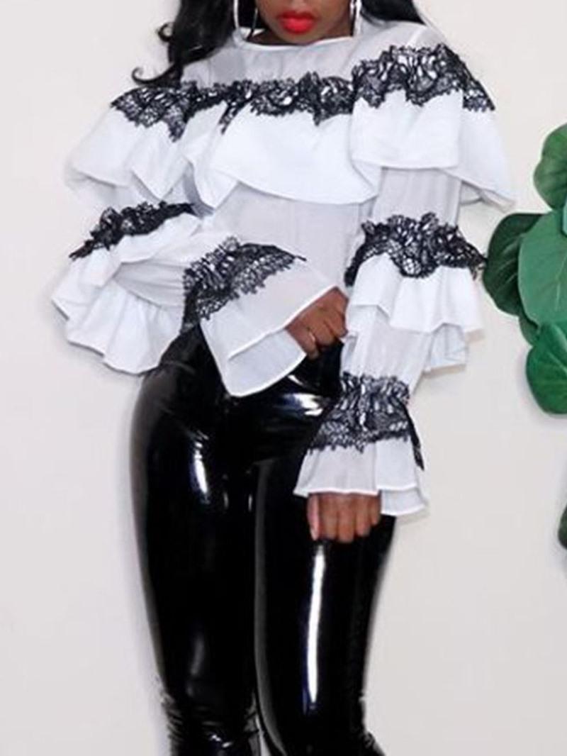 Ericdress Standard Long Sleeve Women's Blouse