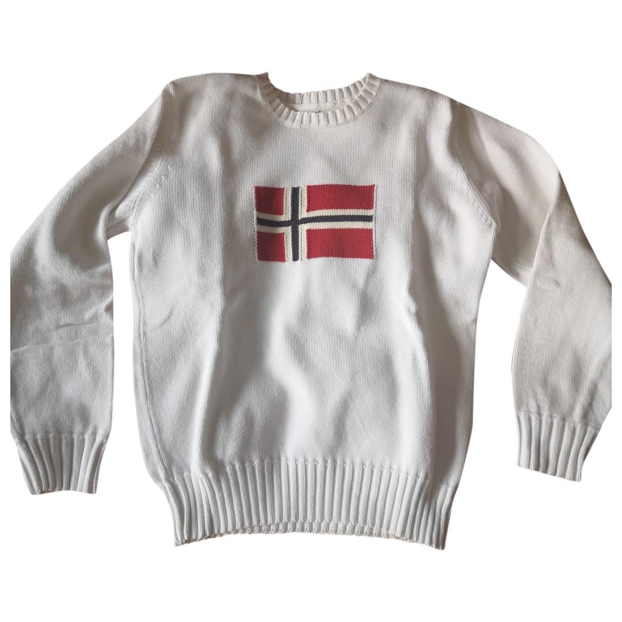 Napapijri \N Pullover.Westen.Sweatshirts  in  Weiss Baumwolle