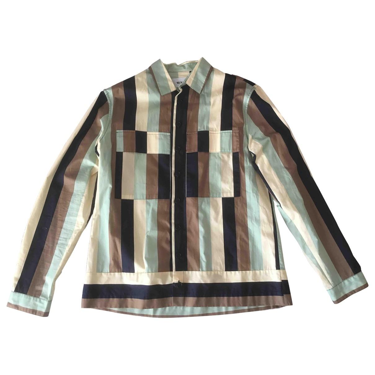 Sunnei - Chemises   pour homme en coton - multicolore