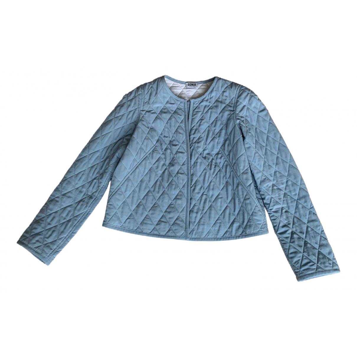 Sonia By Sonia Rykiel - Veste   pour femme en soie - bleu