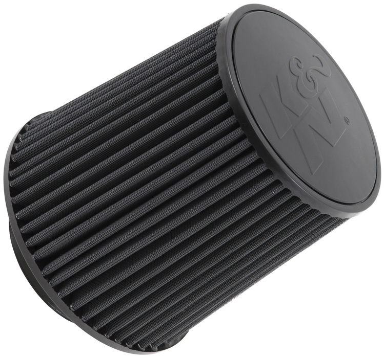 K&N RU-5283HBK Universal Clamp-On Air Filter